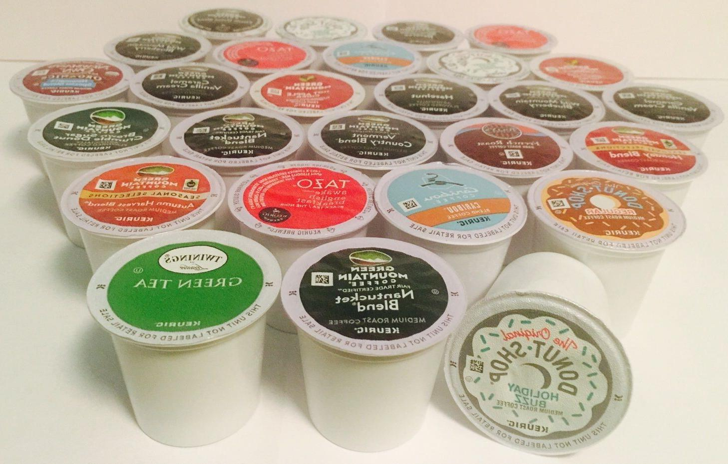 5 Keurig K-cups choose your flavor -  Variety of 130 FLAVORS