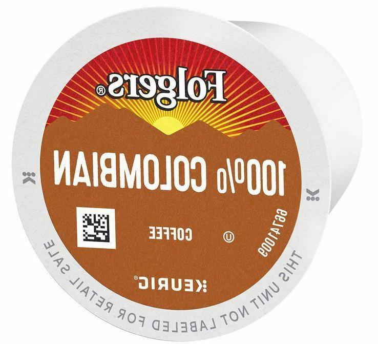 Folgers 100% Colombian Medium Roast Coffee