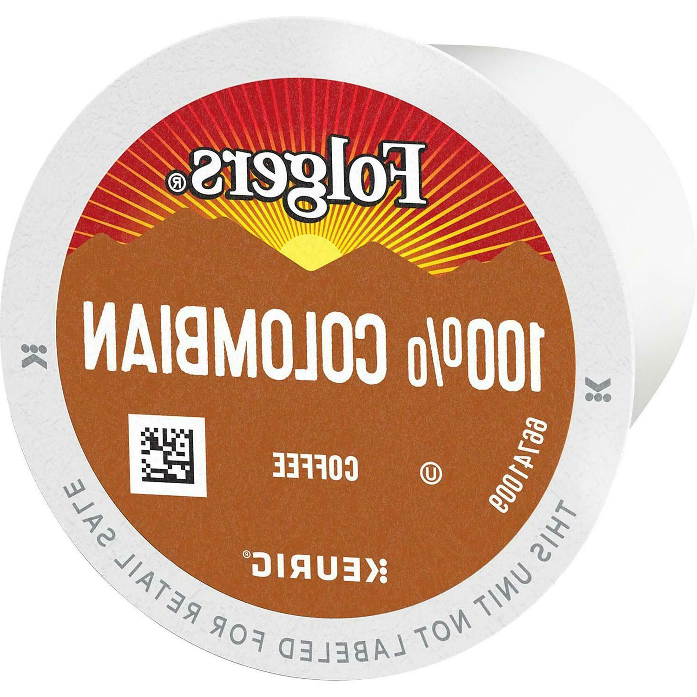 Folgers 100% Colombian Medium Roast Coffee K-Cups
