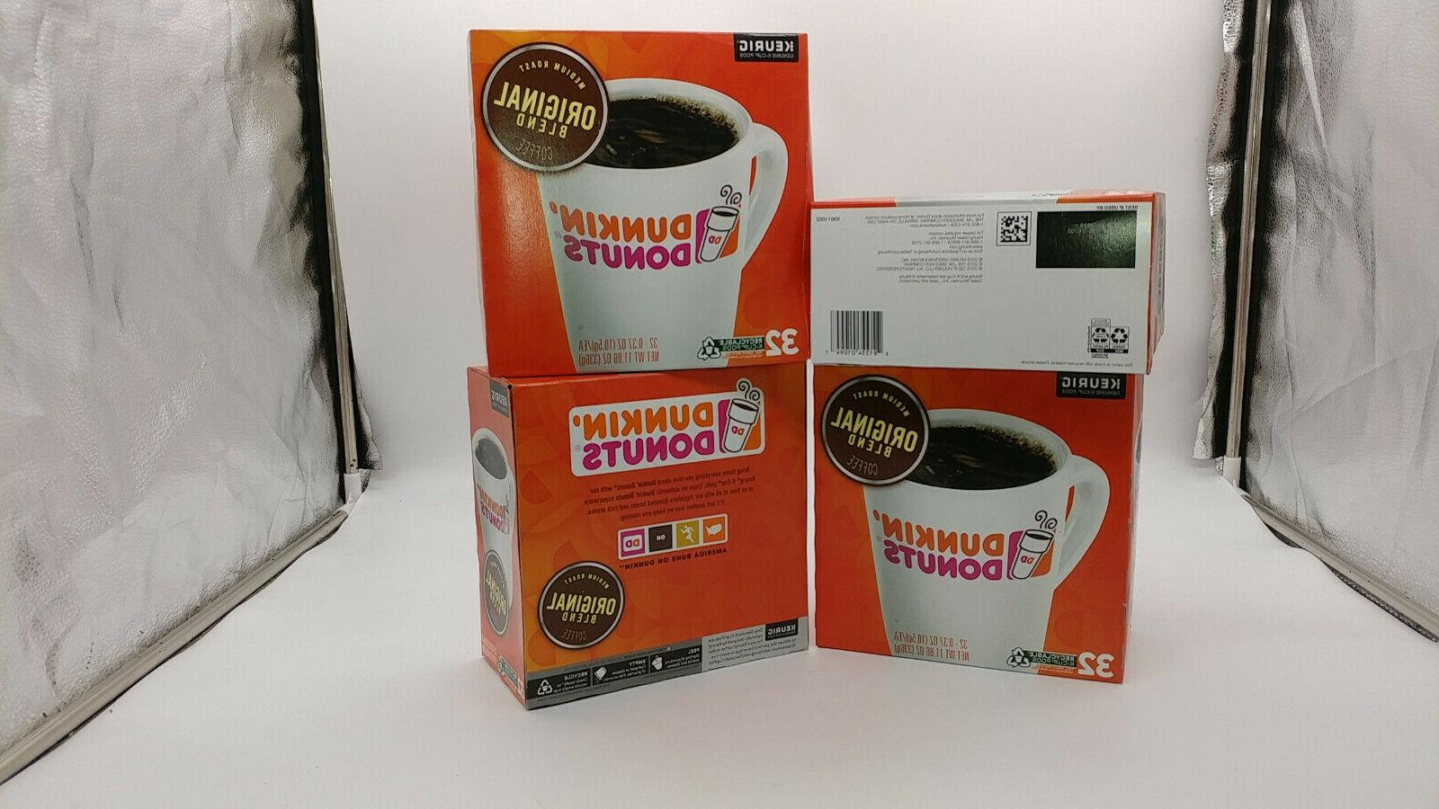 128 count Dunkin' Donuts K-cups Medium