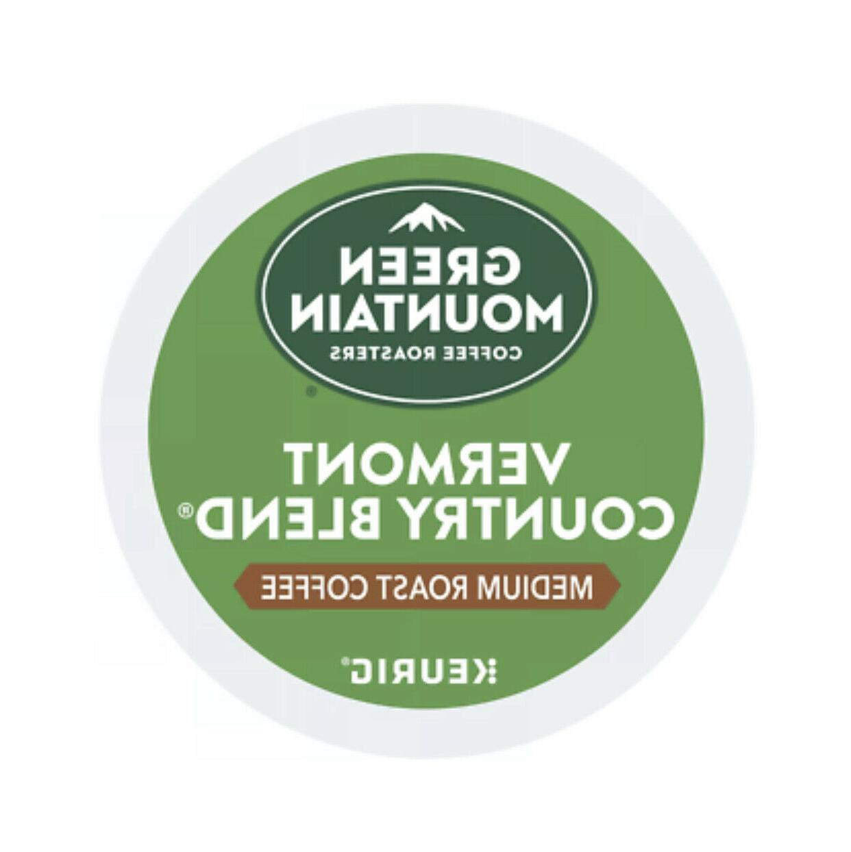2x Coffee K-cups Country Med Roast K-cups Total