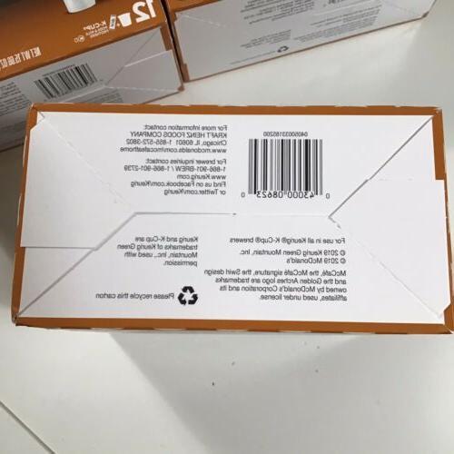 3-Pack Caramel Keurig 12 Milk Total