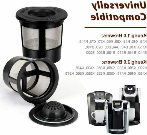 4 Refillable K-Cups for