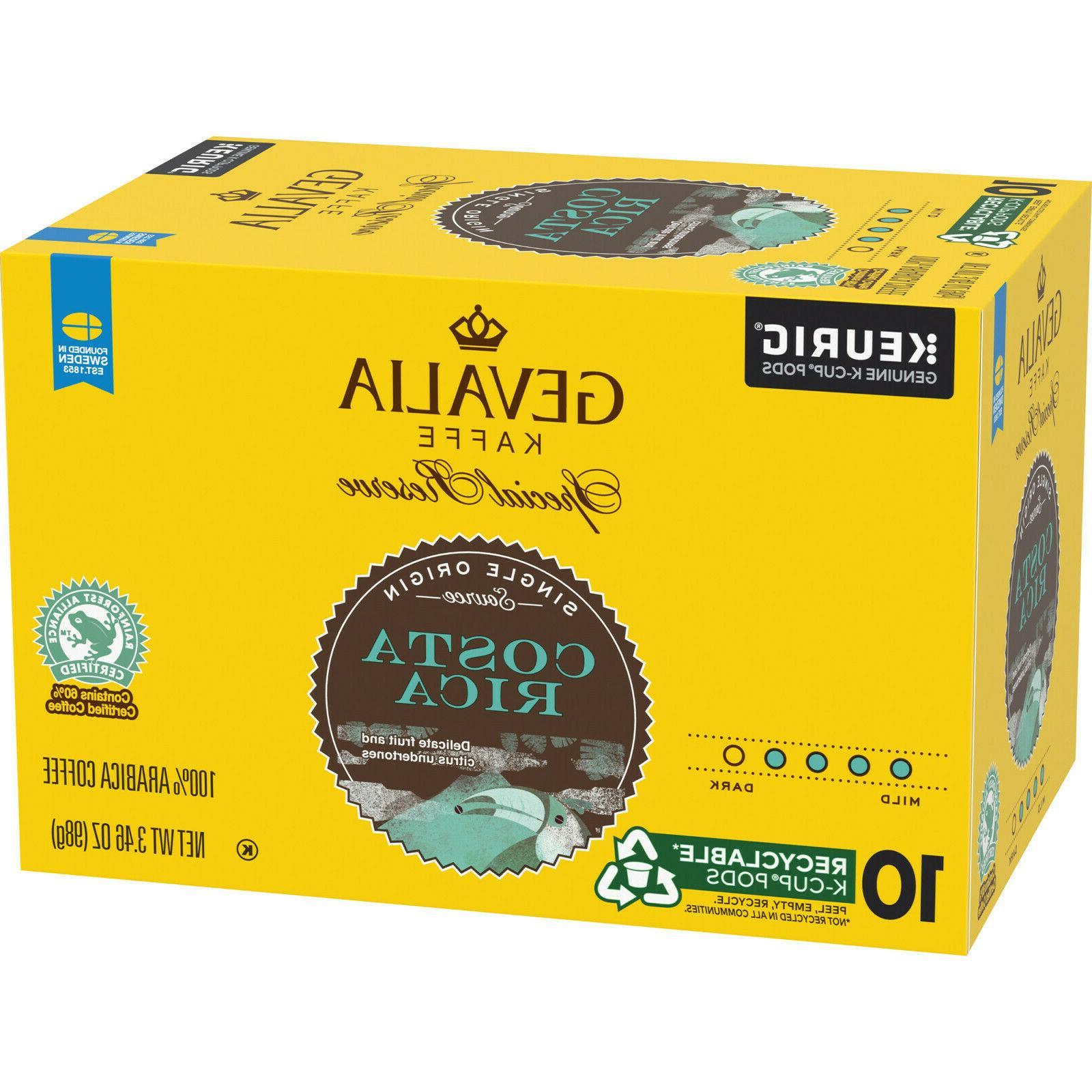 40 Gevalia Costa Blend Pods boxes 10 for