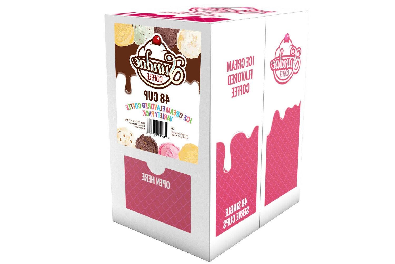 48 Flavored K-Cups Coffee Variety Pack Brewers
