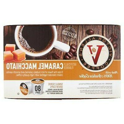 80ct Victor Coffee Caramel Roast Cups