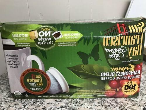 90 one cup k cups rainforest blend