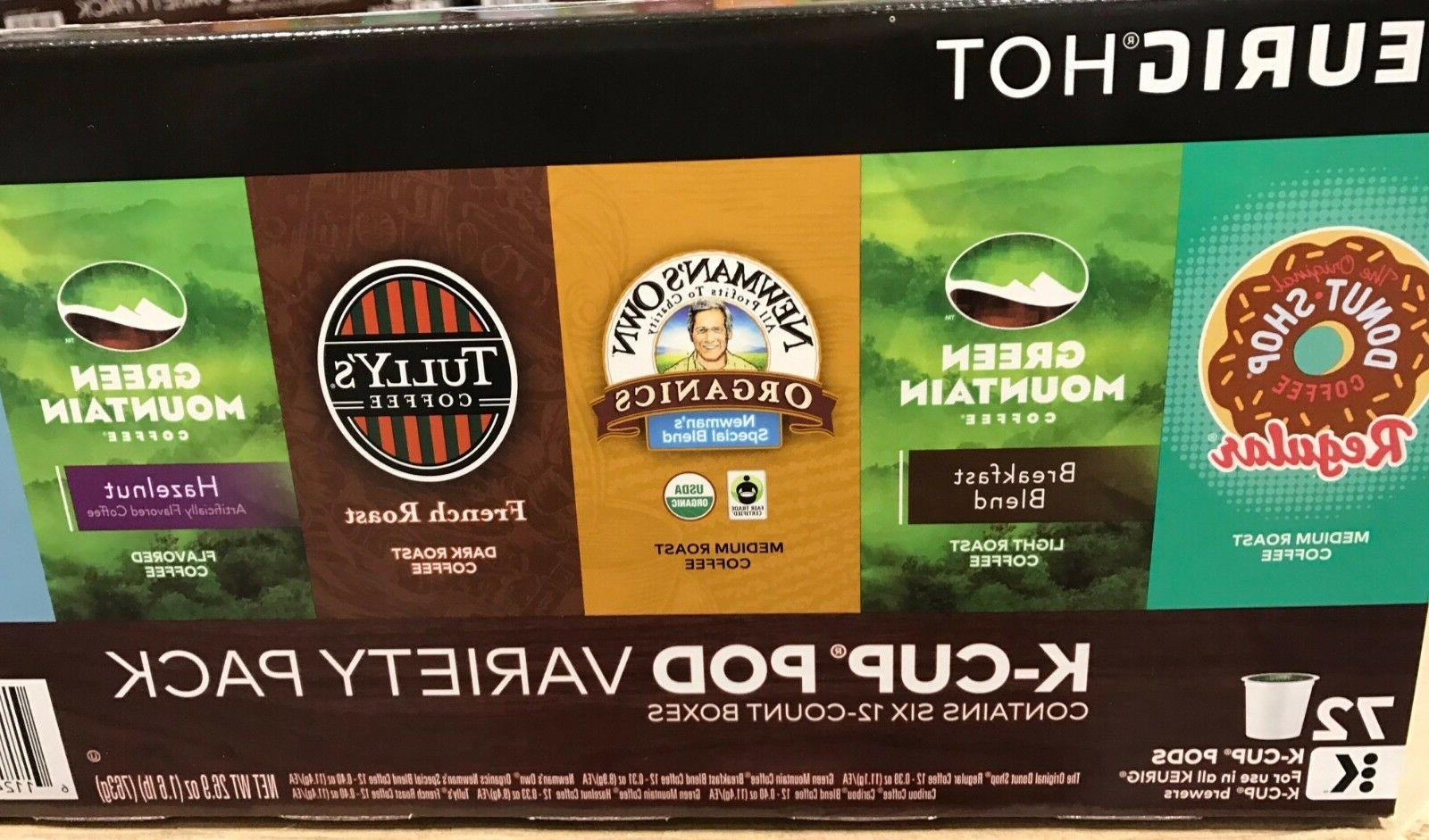 Keurig Green Mountain Coffee Variety Pack 72 K-Cups Pods