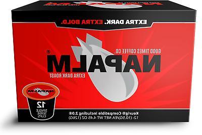 Napalm Coffee, EXTRA DARK ROAST, K Cups for Keurig Brewers 1