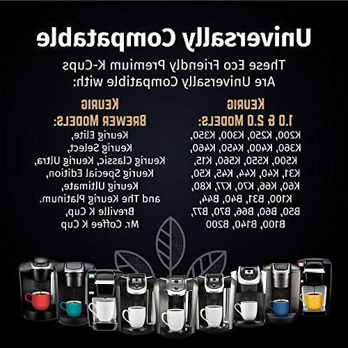 Reusable Keurig 2.0 & 1.0 Brewers Easy To Use Refillable Single Cup Coffee Filters - Friendly