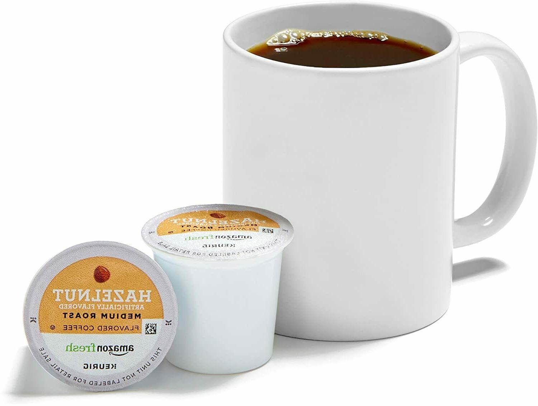 amazonfresh 80 ct k cups hazelnut flavored