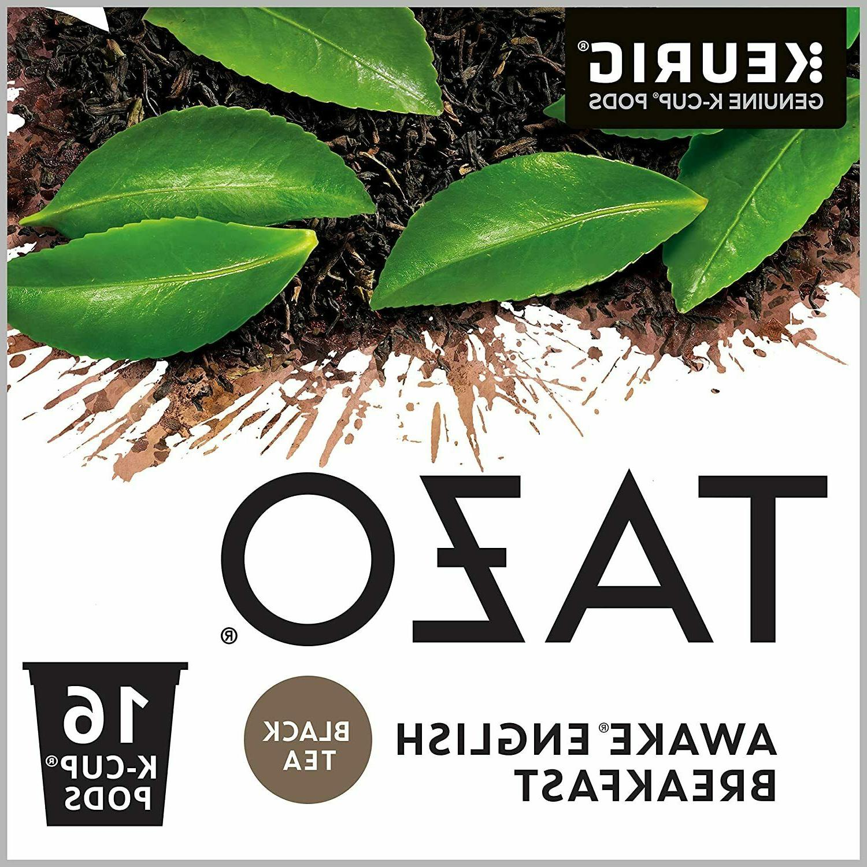 Tazo® Awake Tea Single-Serve K-Cups®, 3.64 Oz, Carton Of 2