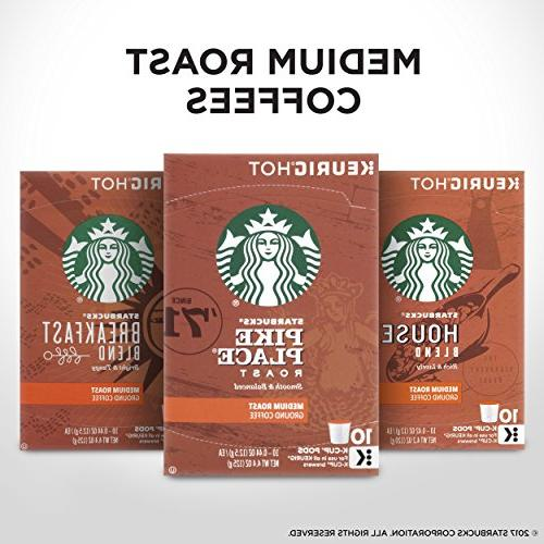 Starbucks Variety Pack for Brewers, 6 boxes of 10 ,