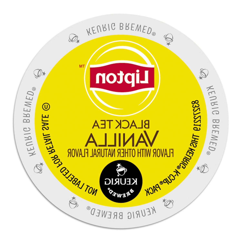 Lipton Black Tea Vanilla Tea 24 to 96 Keurig K cups Pick Any