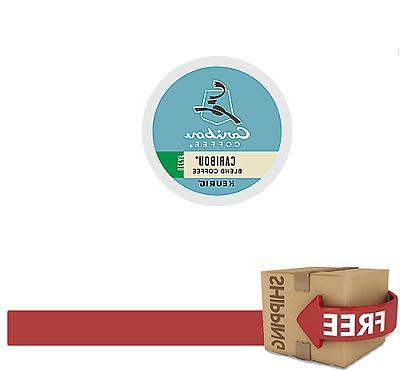 K-CUPS KEURIG CARIBOU BLEND DECAF COFFEE 96 COUNT