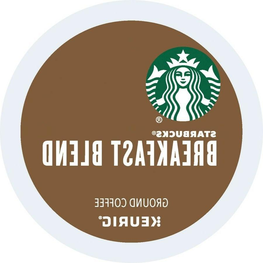 Starbucks Breakfast Blend Coffee 16 to 96 Count Keurig K cup