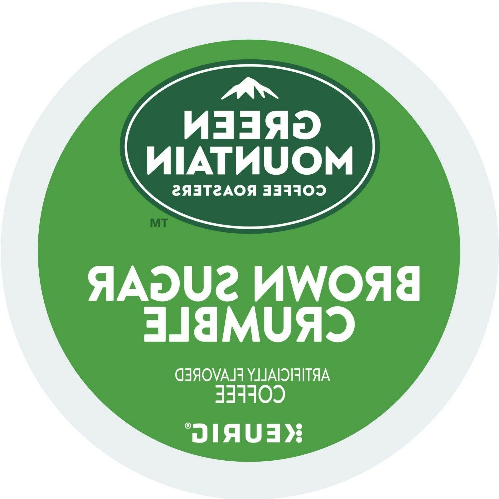 Green Mountain Brown Sugar Crumble Coffee 18 to 90 Keurig K