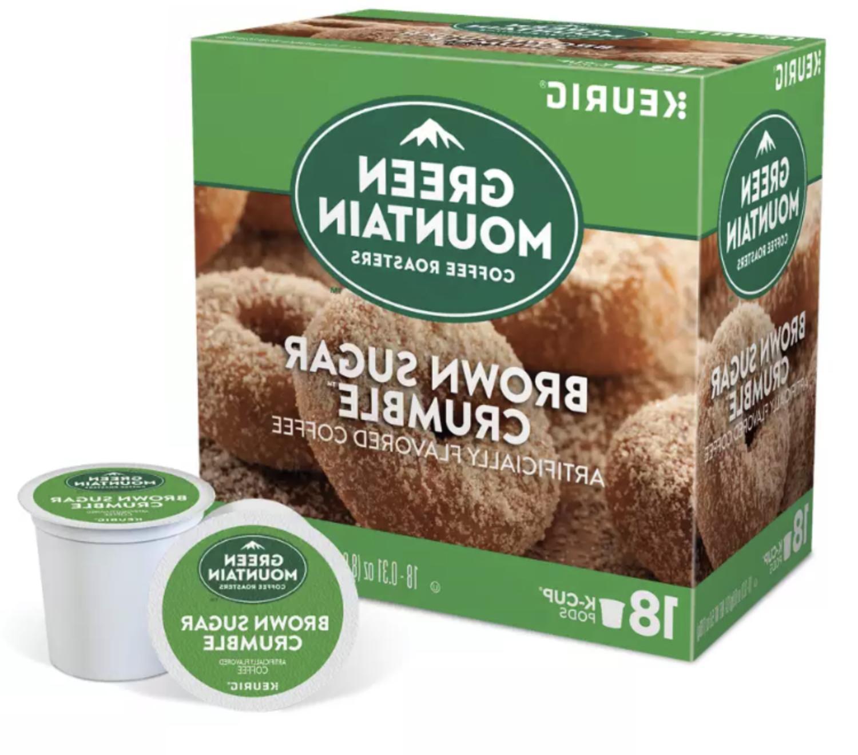 Green Brown Sugar Crumble Count - FREE