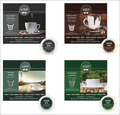cafe tastle single serve flavored coffee keurig