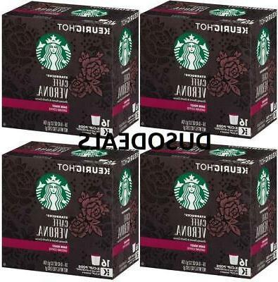 Starbucks Caffe Verona Coffee 32 Count Keurig K cups free sh
