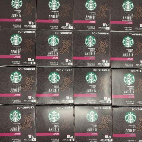 caffe verona dark roast coffee k cups