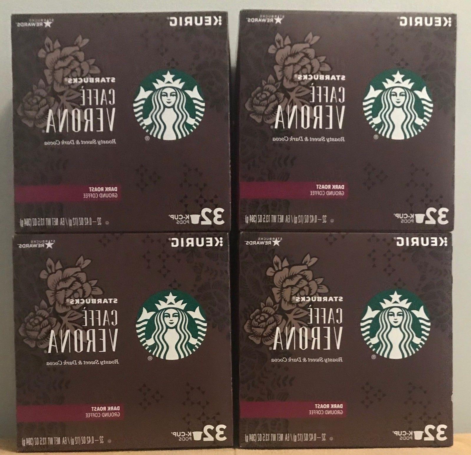 caffe verona dark roast ground coffee k