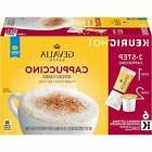 GEVALIA Cappuccino K-CUP Pods and Froth Packets - 6 count