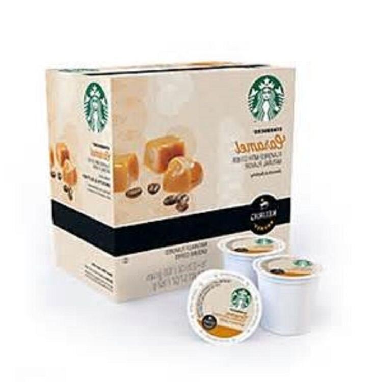 Starbucks Caramel Light Roast Coffee Keurig K-Cups 16 Count