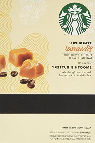 Starbucks Caramel - 16 ct K-Cup Pods Keurig K-Cup