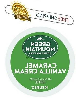 Green Mountain CARAMEL VANILLA CREAM Keurig K-cups Coffee PI
