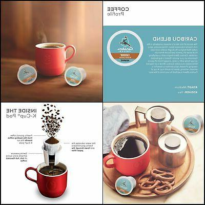 Caribou Coffee Caribou Blend, Single Serve Coffee K-Cup Pod,