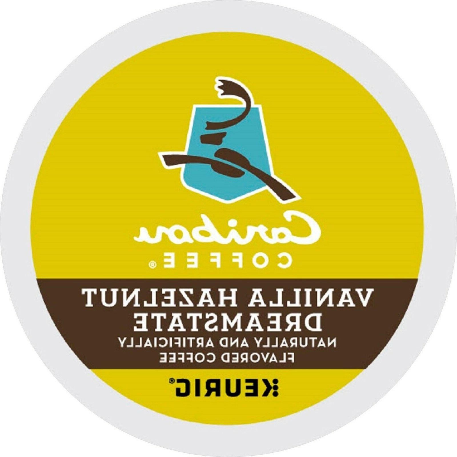 Caribou Vanilla Hazelnut Dreamstate 16 to 96 Keurig K cups P