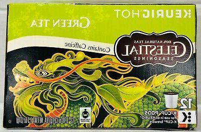 Keurig Celestial Seasonings Green Tea K-cups 12 Count
