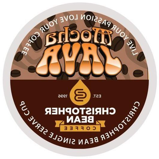 Christopher Bean Coffee Mocha Java Single Cup K Cups One 12