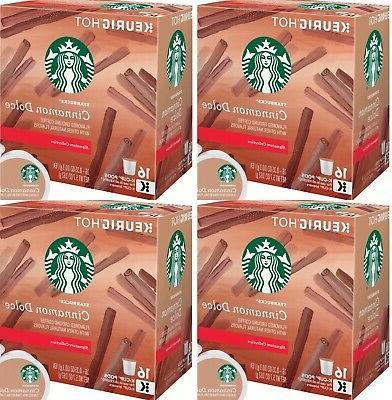 cinnamon dolce k cups 64 count keurig