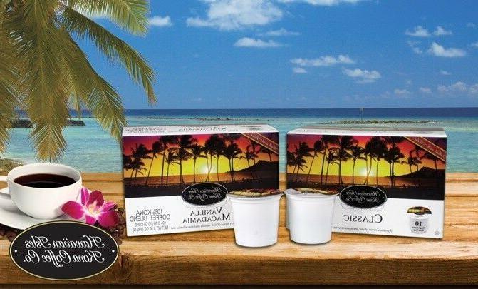 Hawaiian Isles Co SUNRISE DARK K-Cups Single Keurig*