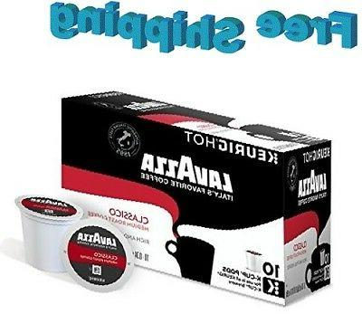 Lavazza Classico Medium Roast Coffee Keurig k-cups