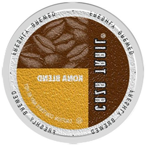 Caza Trail Coffee, Kona Blend, Cups