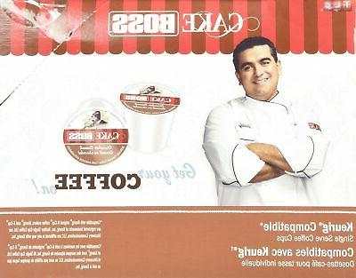 Cake Boss Coffee - Chocolate Cannoli 48 Single Serve K for Keurig Brewers