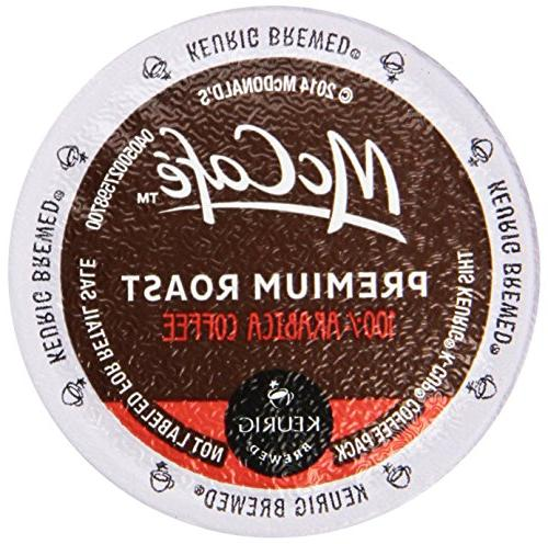 McCafe Coffee On Demand Single Serve Premium Medium Roast Co