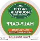 GREEN MOUNTAIN COFFEE HALF CAFF Keurig k-cups YOU PICK THE S
