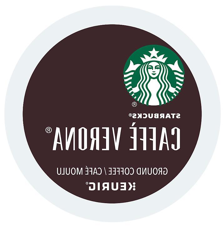 coffee keurig k cups caffe verona dark