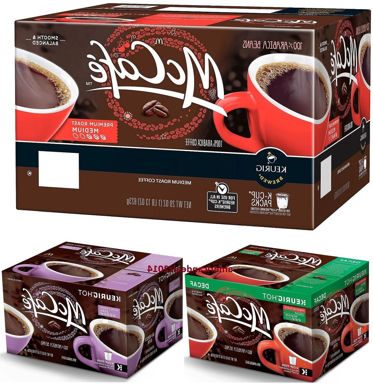 McCafe Coffee K-Cups QUANTITY-