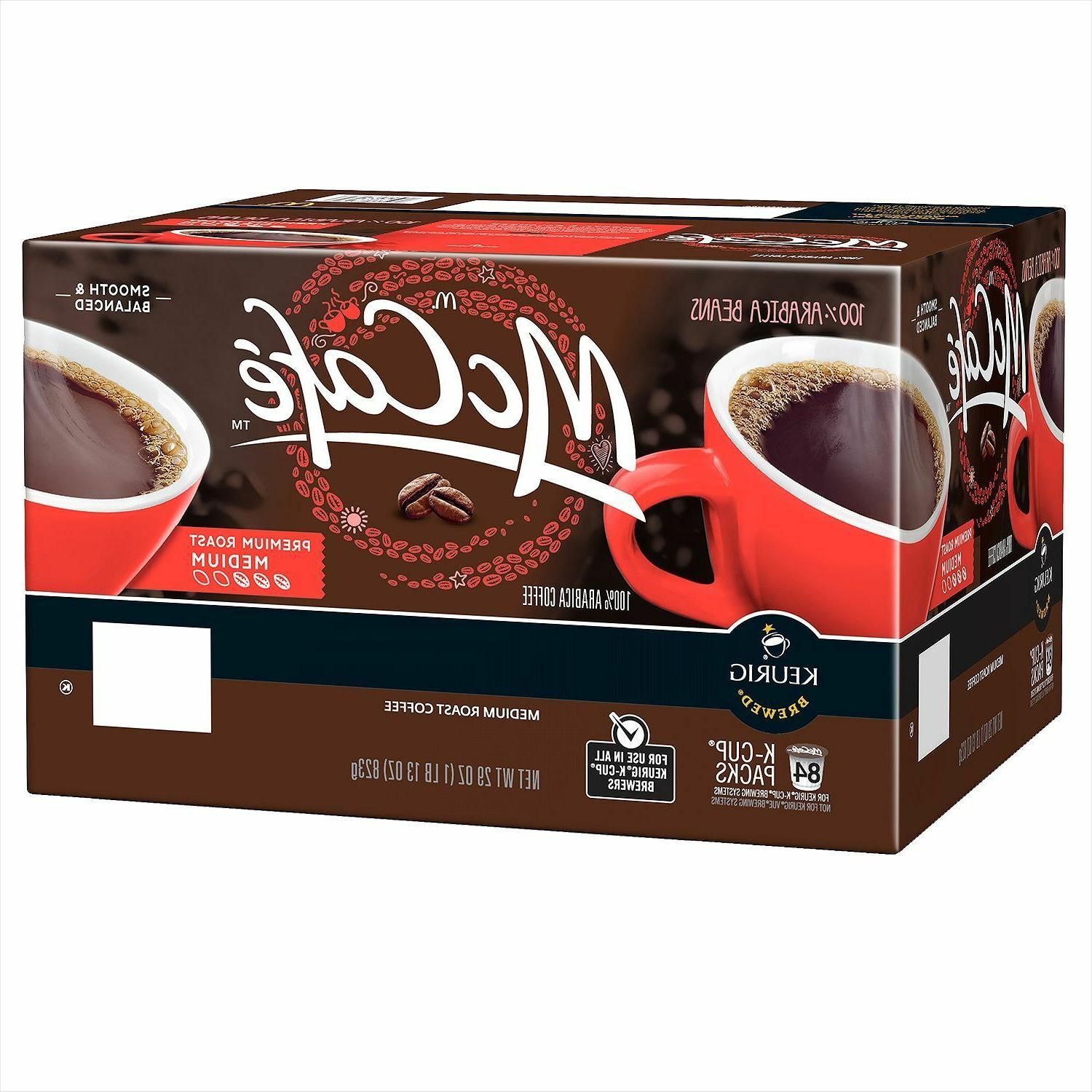 McCafe Coffee Keurig K-Cups PICK ANY QUANTITY- -FREE EXPEDITED!!