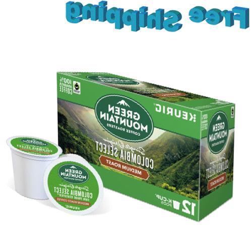 coffee keurig k cups single origin colombia