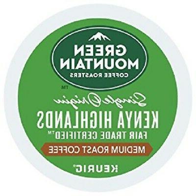 Green Mountain Coffee Keurig k-cups SINGLE ORIGIN KENYA HIGH