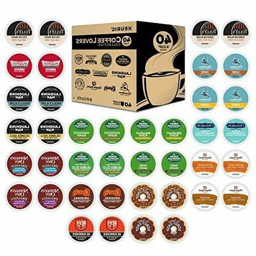 Keurig Coffee Collection Sampler K-Cup Pods,