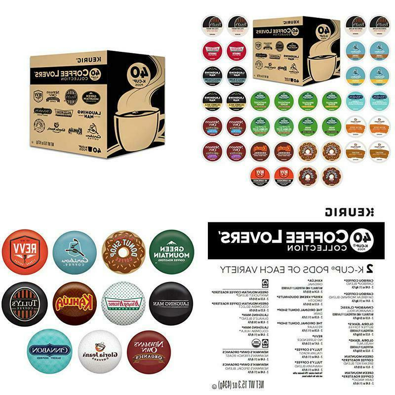 coffee lovers collection sampler pack single serve