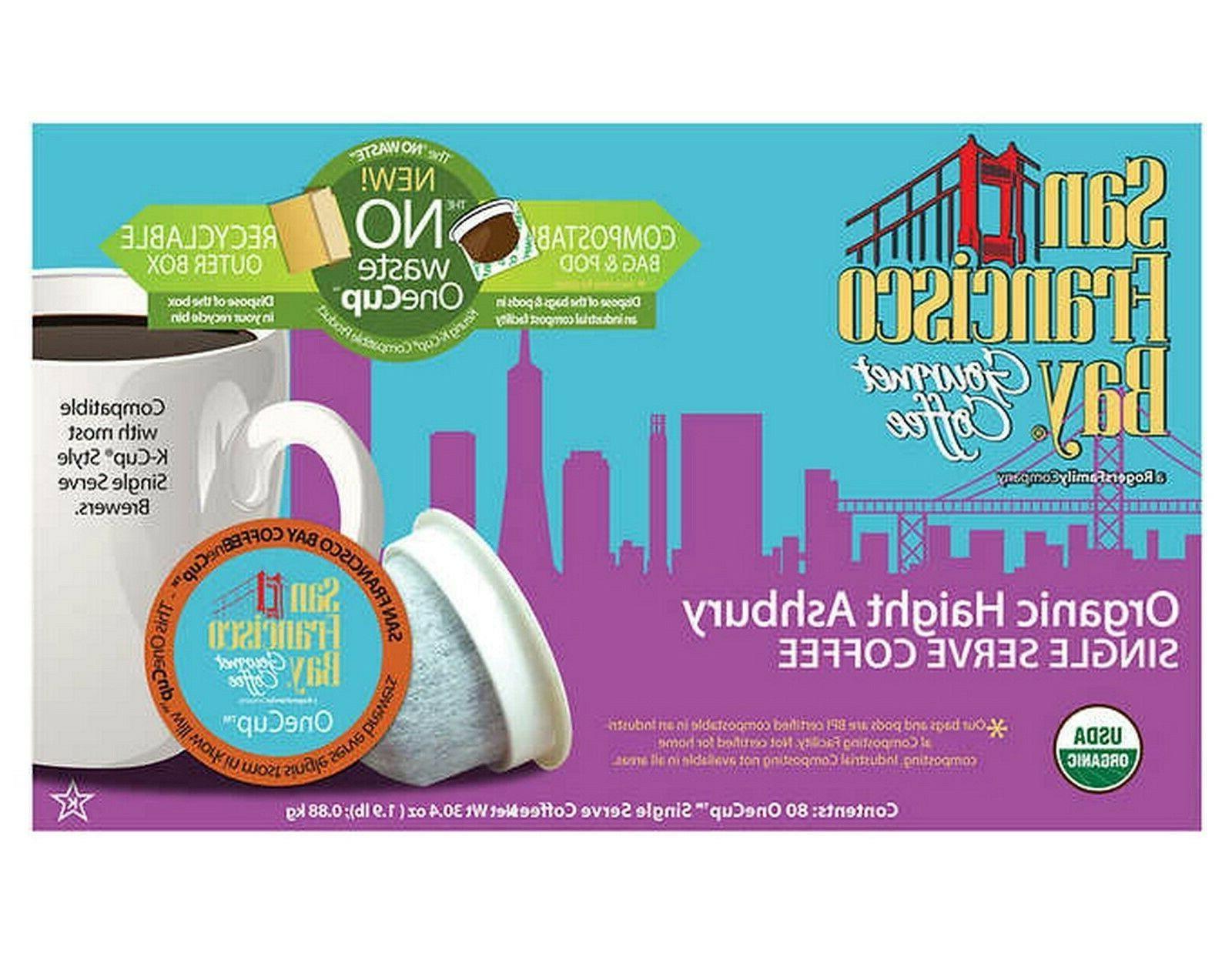 San Organic Ashbury 80 K-Cups One Pods