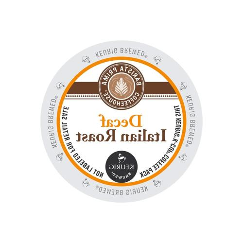 Barista Prima Coffeehouse Decaf Italian Roast KCups 96ct